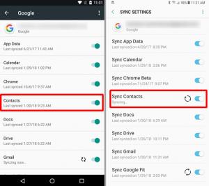 Sincronizar Contactos Android y Icloud