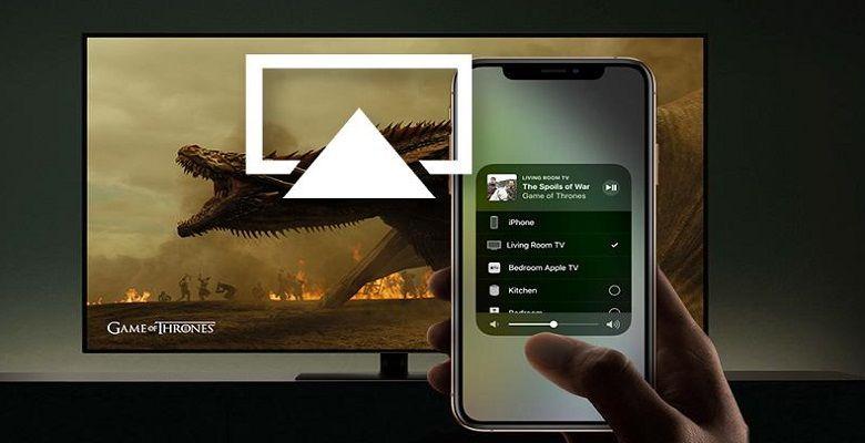 como espelhar iphone na tv