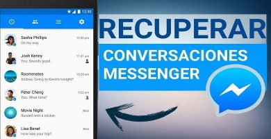 recuperar conversaciones de facebook messenser