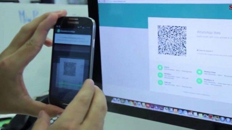 escanear codigo qr para usar whatsapp web