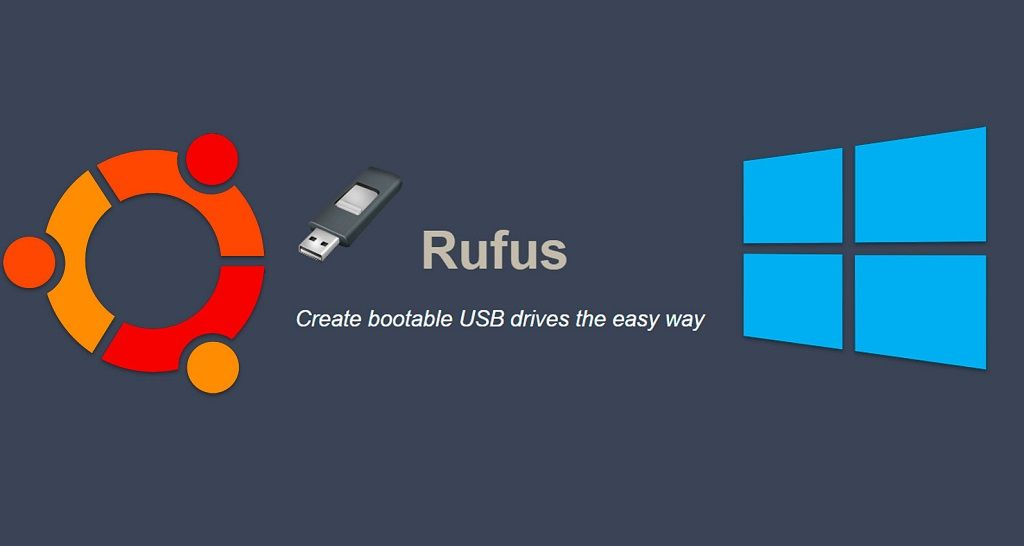 rufus - usb booteable