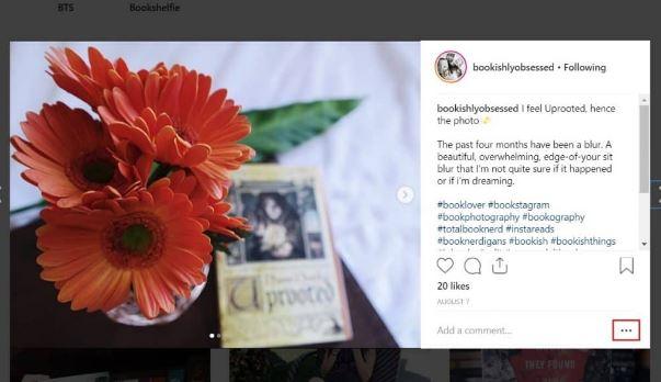 opcion guardar foto en instagram